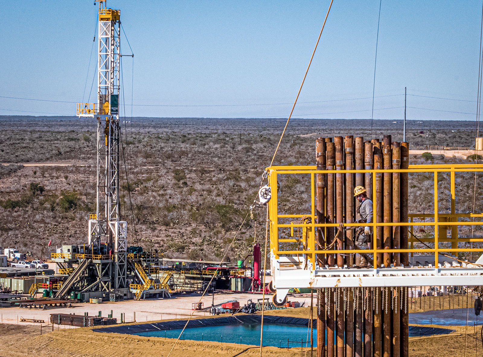 BPX operations in Tilden, Texas