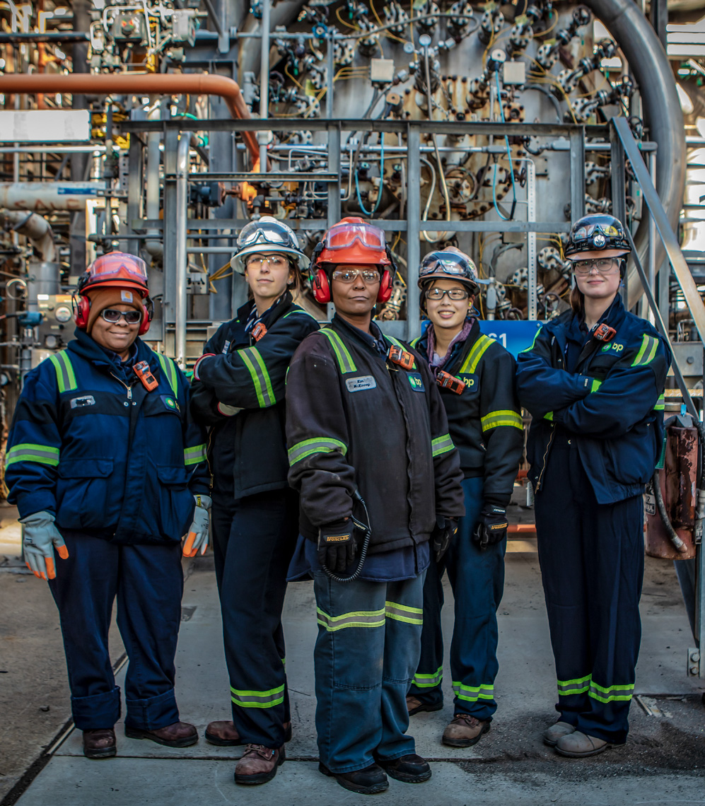 BP refinery in Whiting, Indiana possesses a broad and diverse workforce.