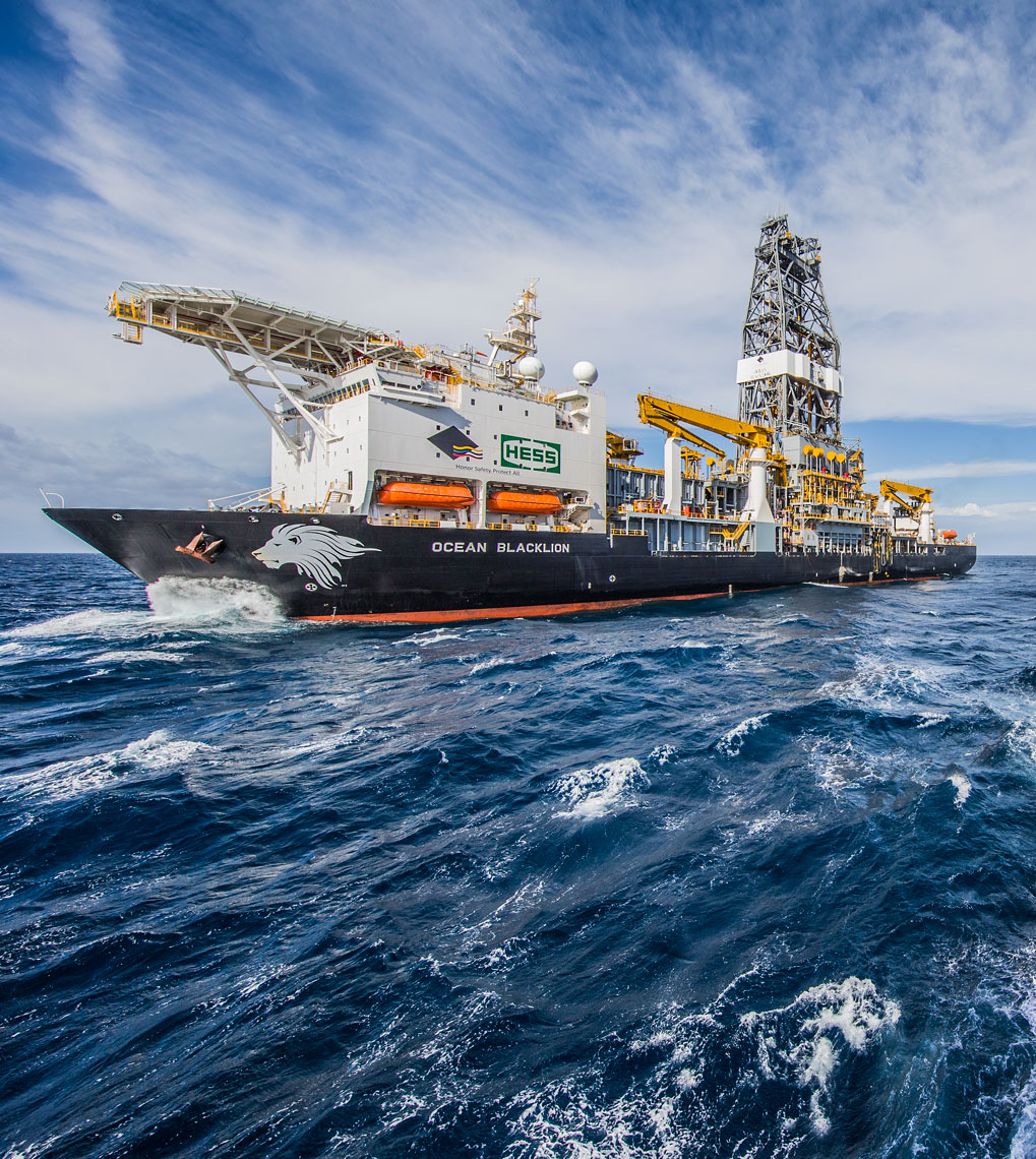 Diamond Offshore Black Lion drilling on Stampede GC 468-512