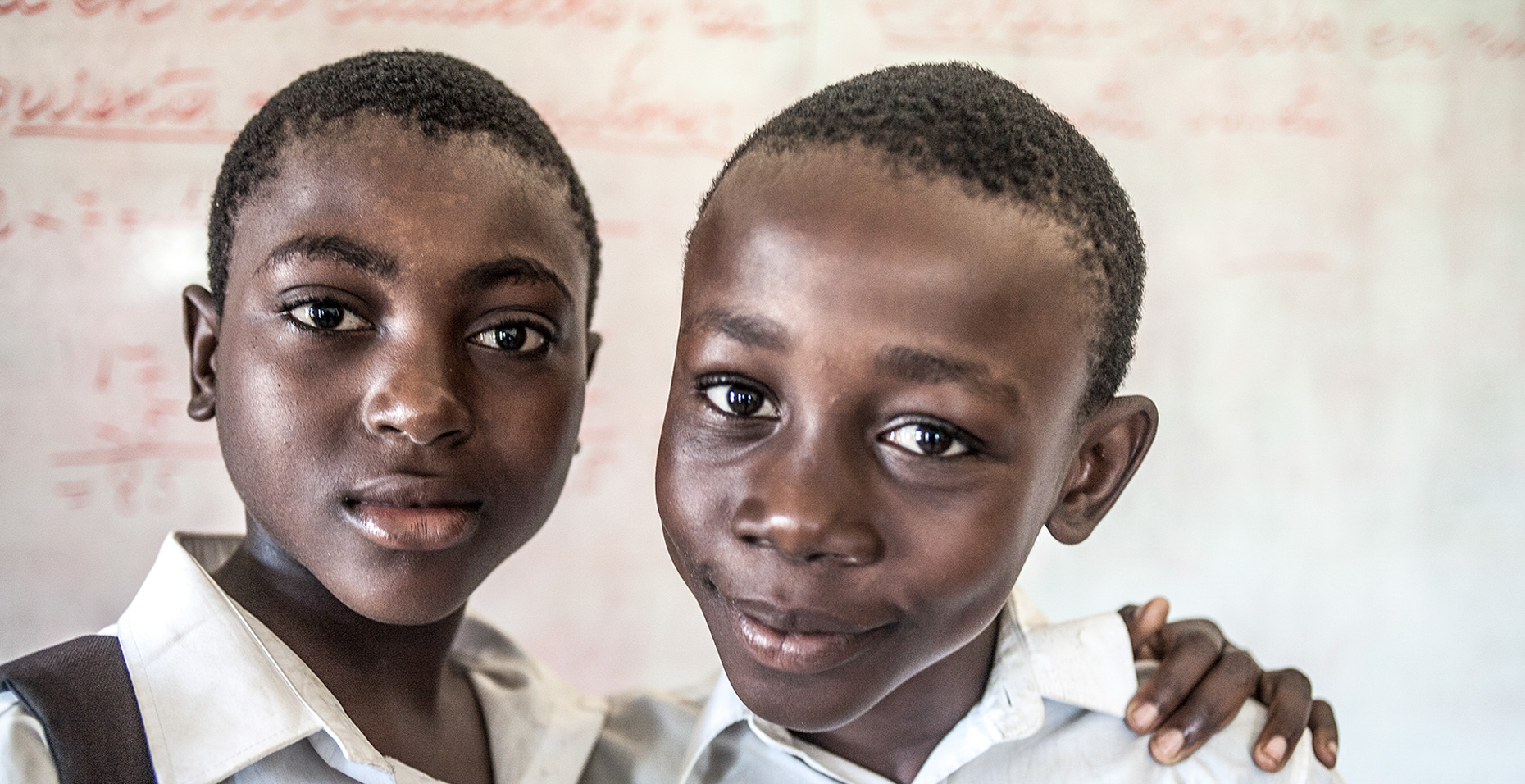 Students attend school in Bata, Equatorial Guinea, West Africa. Shot on assignment for Inc Design.